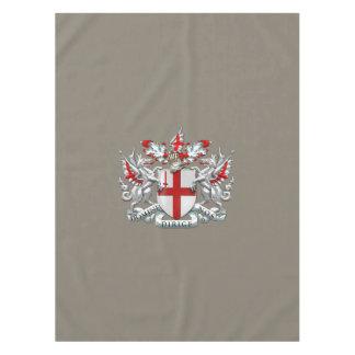 [510]ロンドン-紋章付き外衣市 テーブルクロス