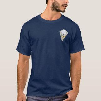 515th PIRの小型パッチ+ 空輸の翼のTシャツ Tシャツ