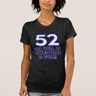 52の誕生日のデザイン Tシャツ