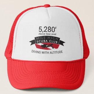 5280マイルの高いスキューバクラブ帽子 キャップ