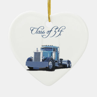 「54人のトラック運転手の服装のクラス セラミックオーナメント
