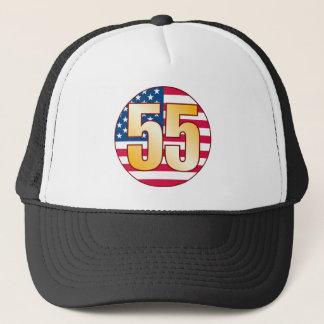 55米国の金ゴールド キャップ