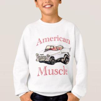 55 chevyアメリカ筋肉 スウェットシャツ
