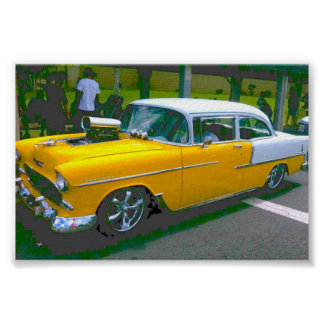 55-Chevy ポスター