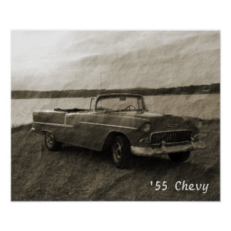 「55 Chevy ポスター