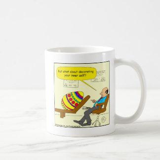 562イースターエッグの内部の自己の漫画 コーヒーマグカップ