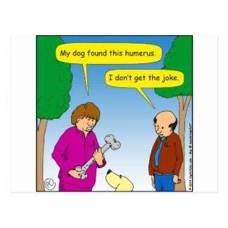 566は私の犬このユーモアのあるな漫画を見つけました はがき