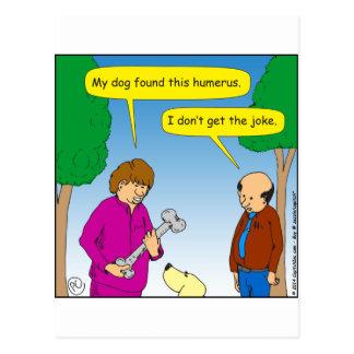566は私の犬このユーモアのあるな漫画を見つけました ポストカード
