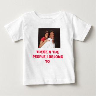 5678、これらのR人々私はに属します ベビーTシャツ