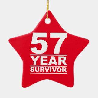 57年の生存者 セラミックオーナメント