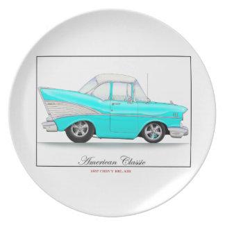 57 Chevyのプレート プレート