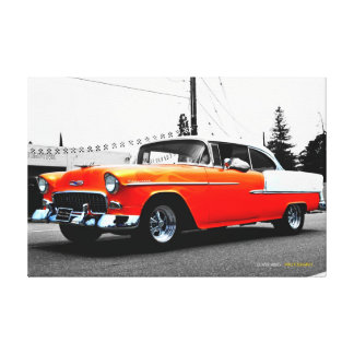 57 Chevy キャンバスプリント