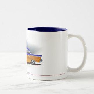 57-chevy ツートーンマグカップ