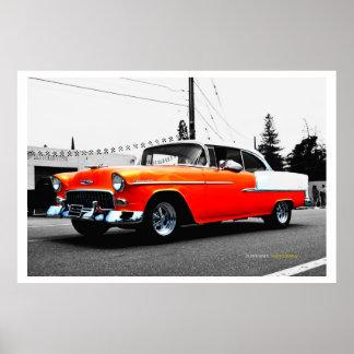 57 Chevy ポスター