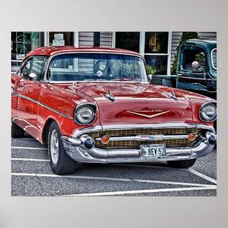 57' Chevy ポスター