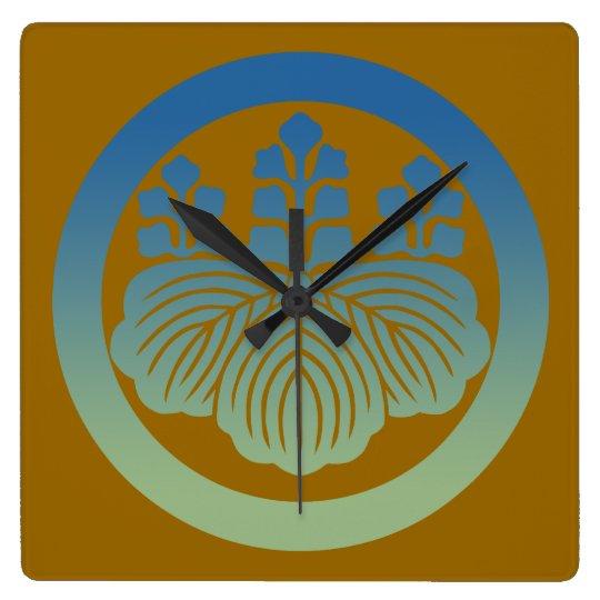 57kiri3 スクエア壁時計