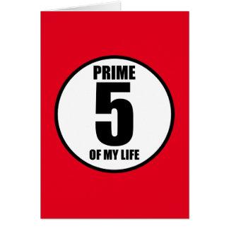 5 -私の生命の全盛 カード