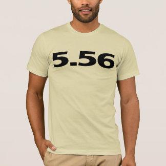 5.56 AR15銃 Tシャツ