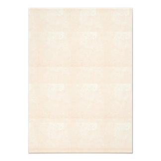 """5"""" x 7""""招待状BASIC: 水晶輝きのクリーム カード"""