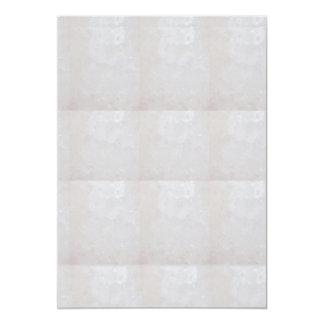 """5"""" x 7""""招待状BASIC: 水晶輝きの白 カード"""