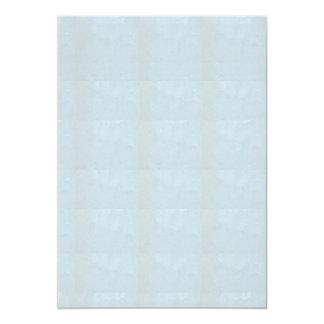 """5"""" x 7""""招待状BASIC: 水晶輝きの青 カード"""