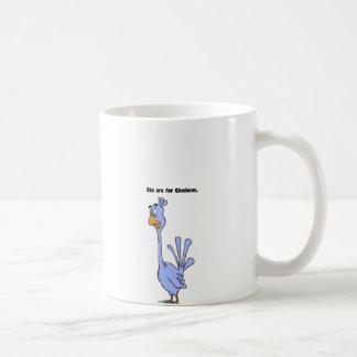 5ksは鶏の青い鳥のマラソンの漫画のためです コーヒーマグカップ