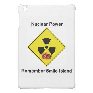 5mile島の反核ロゴを覚えて下さい iPad miniカバー