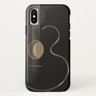 6つのひものアコースティックギター iPhone X ケース