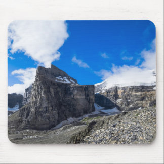 6つの氷河Lake Louiseアルバータカナダの明白 マウスパッド