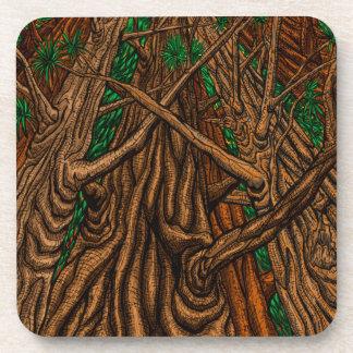 6の木のコースターセット コースター