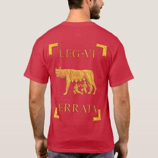 6ローマのLegio VI Ferrata VexillaのTシャツ Tシャツ