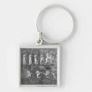 6人の使徒の聖餐 キーホルダー