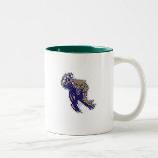 6以下のAaya Fort Meadeのクーガー ツートーンマグカップ