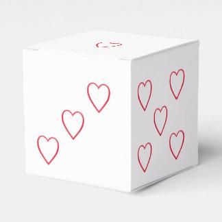 6味方されるバレンタインのハートのサイコロの好意箱によって死んで下さい フェイバーボックス