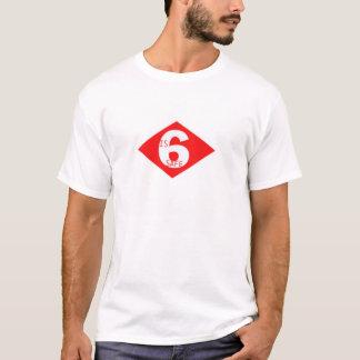 6安全があります Tシャツ