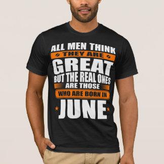 6月の誕生日 Tシャツ
