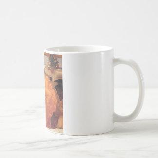 6月を炎にあてているフレデリックLeighton コーヒーマグカップ