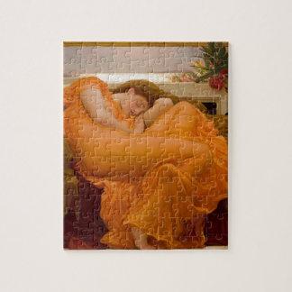 6月燃え立つヴィンテージの芸術カード絵画 ジグソーパズル