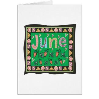 6月4日 グリーティングカード