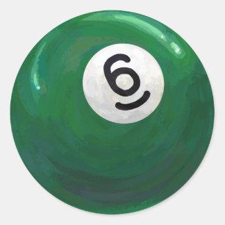 6球 ラウンドシール