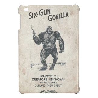 6銃のゴリラの機関銃40s映画ChimpScienc iPad Miniケース