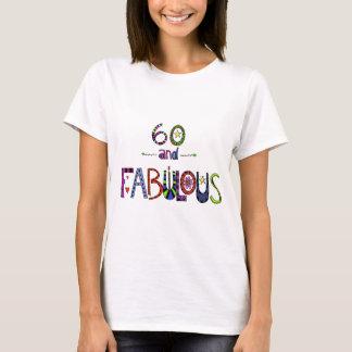 60およびすばらしいの60歳、第60誕生日 Tシャツ