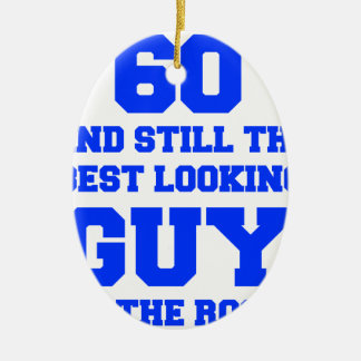 60およびまだベスト見人新しいBLUE.png セラミックオーナメント