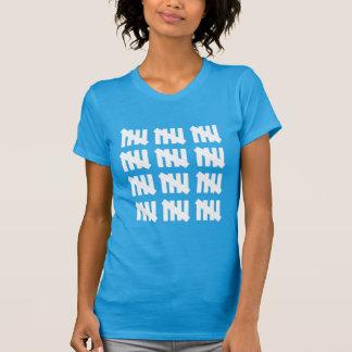 60の検数の印によってインスパイア第60誕生日のティー Tシャツ