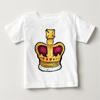 60周年記念の王冠の豪華なスケッチ ベビーTシャツ