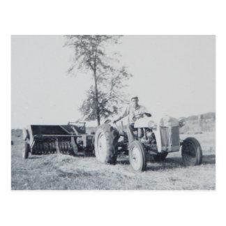 60年代に干し草にすること ポストカード