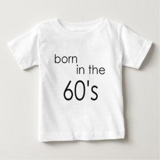 60年代.pngに生まれて下さい ベビーTシャツ