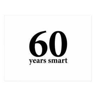 60年頭が切れる ポストカード