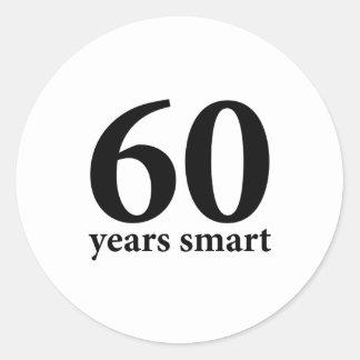 60年頭が切れる ラウンドシール