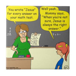 603イエス・キリストは正解の漫画です タイル